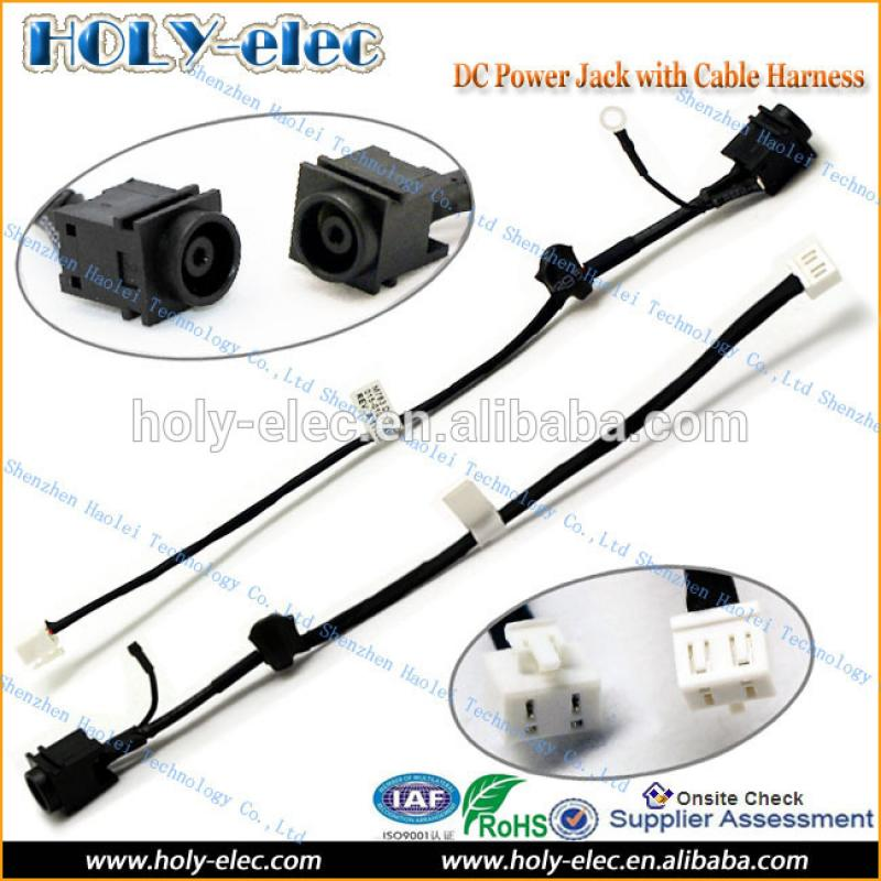 Original DC power jack in cable for SONY VAIO VGN-FW series M763 015-0101-1455-A(PJ167)