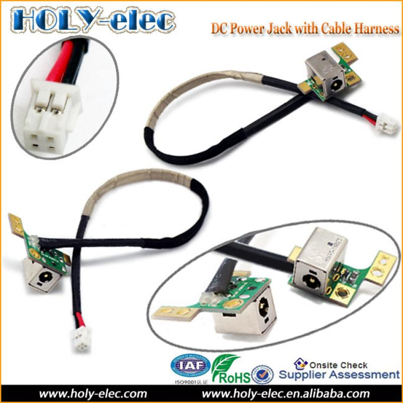 laptop dc power board jack socket port cable wire hp. Black Bedroom Furniture Sets. Home Design Ideas